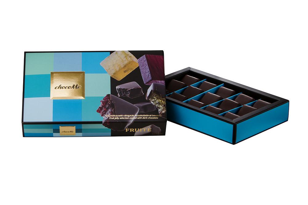 ChocoMe Owocowe galaretki w ciemnej czekoladzie
